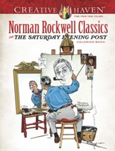 Norman Rockwell's Saturday Evening Post Classics Coloring Book