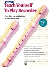 Teach Yourself to Play Recorder,  Book Only