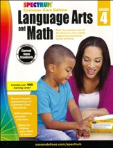 Spectrum Language Arts and Math,  Grade 4 (2015 CCSS Edition)