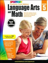 Spectrum Language Arts and Math, Grade 5 (2015 CCSS Edition)