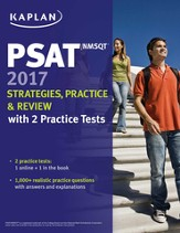 PSAT/NMSQT 2017 Strategies, Practice, and Review with 2 Practice Tests: Online + Book - eBook