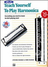 Teach Yourself to Play Harmonica, Book & Enhanced CD