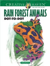 Rain Forest Animals Dot-to-Dot