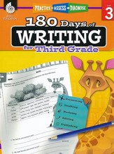 180 Days of Writing for Third Grade (Level 3)