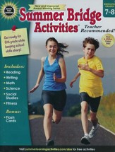 Summer Bridge Activities, Ages 12 to 13