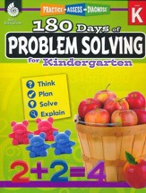 180 Days of Problem Solving for Kindergarten (Level K)