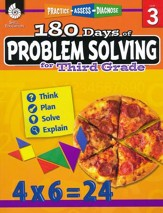 180 Days of Problem Solving for Third Grade (Level 3)