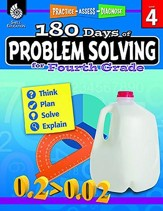 180 Days of Problem Solving for Fourth Grade (Level 4)
