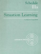 Situation Learning Schedule 3A Student's Study Book