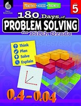 180 Days of Problem Solving for Fifth Grade (Level 5)