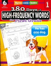 180 Days of High-Frequency Words for First Grade (Level 1)