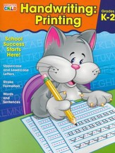 Brighter Child Handwriting: Printing