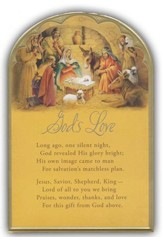 God's Love Christmas Cards, Box of 18
