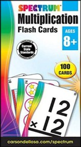 Spectrum Multiplication Flashcards