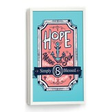 Hope Is the Anchor For My Soul Wall Art