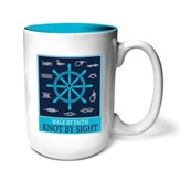 Walk By Faith, Knot By Sight Mug