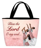 Bless the Lord, O My Soul, Tote Bag, Dancer