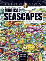 Magical SeaScapes Coloring Book