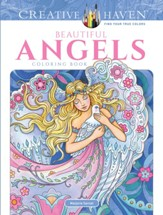 Beautiful Angels Coloring Book