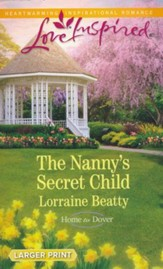 The Nanny's Secret Child, Large Print