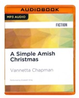 A Simple Amish Christmas - unabridged audio book on CD