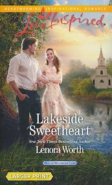 Lakeside Sweetheart, Large Print