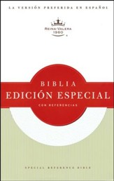 Biblia Especial con Referencias RVR 1960, Piel Fab. Blanca Ind.  (RVR 1960 Special Reference Bible, Bon. Leather White Ind.)