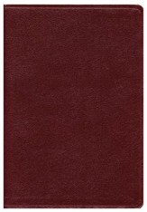 KJV Super Giant Print Reference Bible, Bonded Leather, Burgundy,  Indexed - Slightly Imperfect