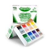 Crayola, Washable Broad Line Markers, 8 Colors, 200 Pieces