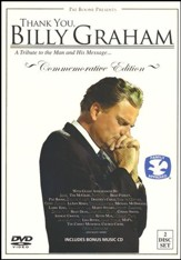 Thank You, Billy Graham: A Tribute to the Man and His Message - DVD with Bonus Music CD