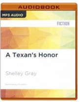 #2: A Texan's Honor - unabridged audio book on MP3-CD