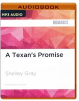 #1: A Texan's Promise - unabridged audio book on MP3-CD