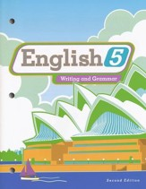 BJU English Grade 5 Student Edition,  2nd Edition (Updated copyright)