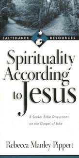 Spirituality According to Jesus: Eight Seeker Bible Discussions on the Gospel of Luke