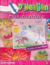 D'Nealian Handwriting Book K (Kindergarten)