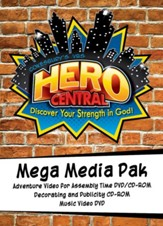 VBS 2017 Hero Central: Discover Your Strength in God! - Mega Media Pak