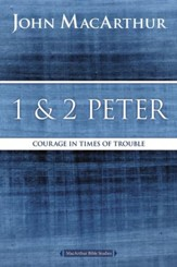 1 and 2 Peter: Courage in Times of Trouble - eBook