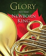 Newborn King Christmas Large Bulletins, Pack of 50