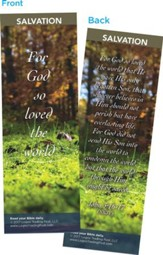 For God So Loved the World Bookmarks, Pack of 25
