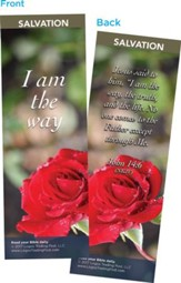 I Am the Way Bookmarks, Pack of 25