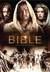 The Bible: The Epic MiniSeries DVD  - Slightly Imperfect