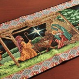 First Christmas, Tapestry Table Runner