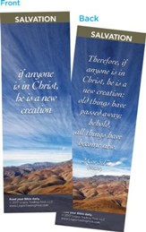 If Anyone if in Christ, He is a New Creation Bookmarks, Pack of 25