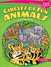 Circles of Fun Animals Coloring Book