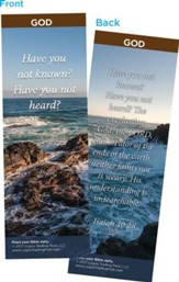 Have You Not Known? Bookmarks, Pack of 25