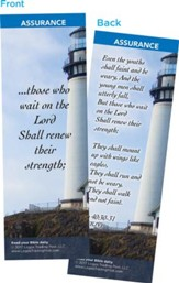 Those Who Wait on the Lord, Bookmarks, Pack of 25