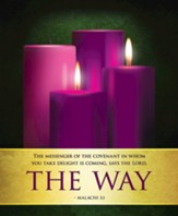 The Way Advent Sunday 2 Large Bulletins, Pack of 50