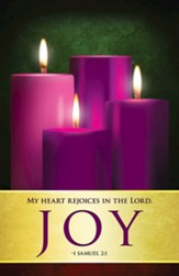 Joy Advent Sunday 3 Bulletins, Pack of 50