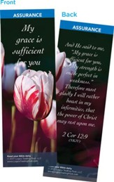 My Grace is Sufficient for You Bookmarks, Pack of 25