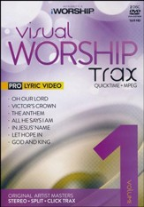 iWorship Visual Worship Trax: Volume 1, DVD